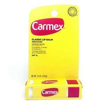 Купить Carmex Classic Lip Balm Medicated SPF 15 4.25 g