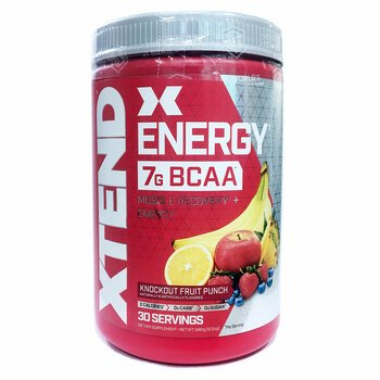 Купить Scivation Xtend Energy Time Released Caffeine + BCAAs Fruit Pu...