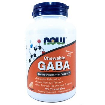 Купить Chewable GABA Natural Orange Flavor 90 Chewables ( ДАБК апельс...