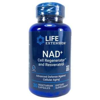 Купить NAD+ Cell Regenerator & Resveratrol 30 Veggie Capsules
