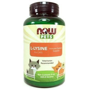 Купить Now Foods Now Pets L-Lysine for Cats 226.8 g