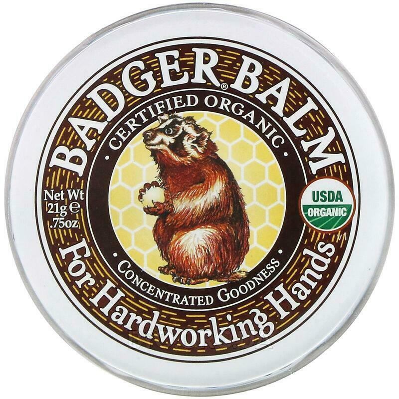 Badger Бальзам для трудолюбивых рук. 21 г фото товара