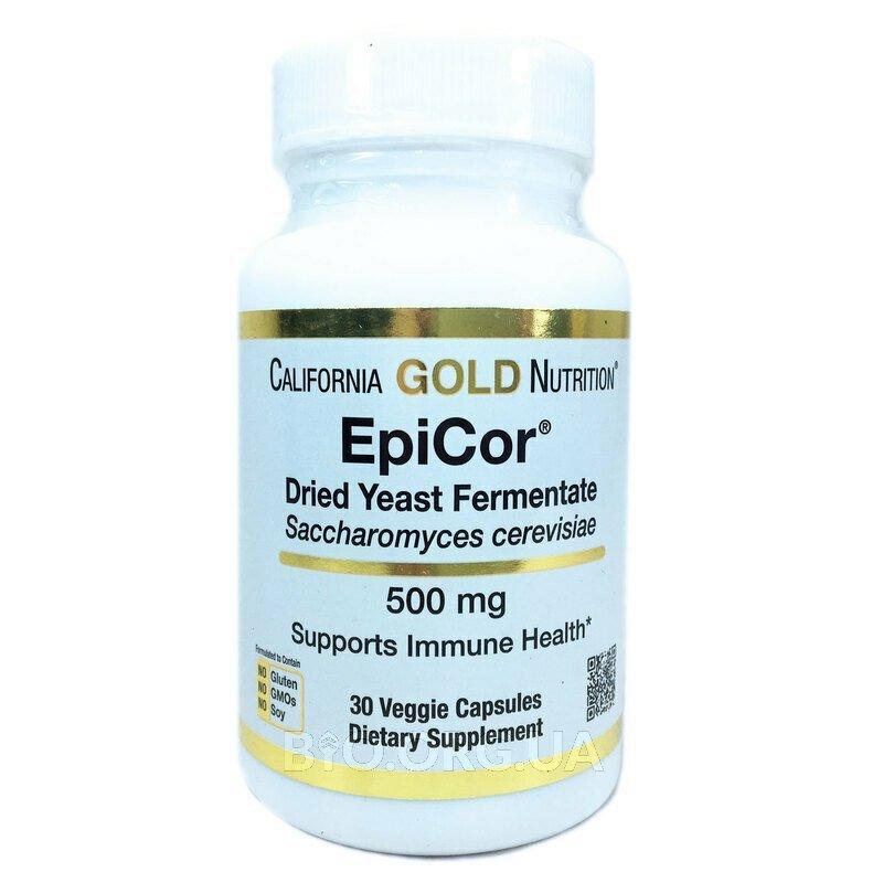 EpiCor сушеный дрожжевой ферментат 500 мг 30 вегетарианских ка... фото товара