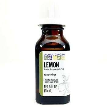 Купить 100 Pure Essential Oil Lemon 15 ml (Аура Касія 100 чисте ефірн...