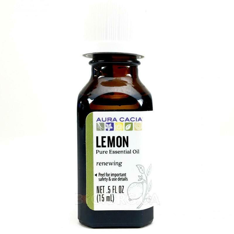 Аура Кассия 100 чистое эфирное масло лимона 15 мл