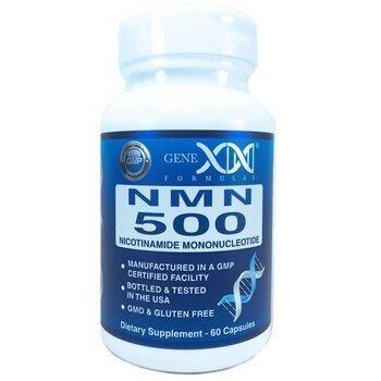 Купить NMN 500 mg Nicotinamide Mononucleotide 60 Capsules