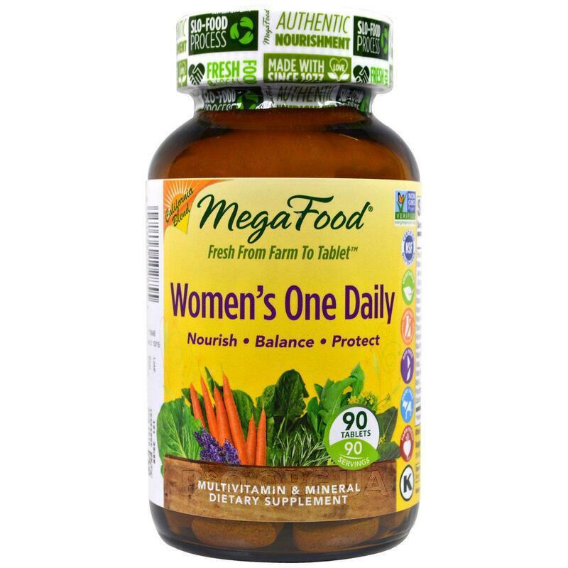 Мега Фудс комплекс Мультивитаминов и минералов для женщин 90 т... фото товара