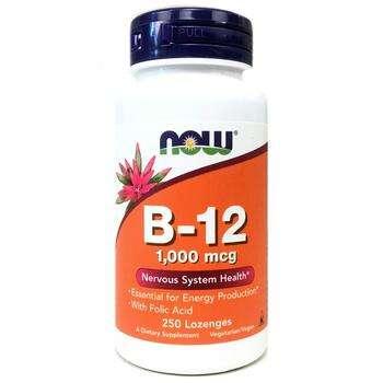 Купить B 12 1000 mcg 250 Lozenges ( вітамін B 12 1000 мкг 250 льодяни...