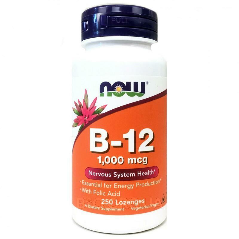 витамин B 12 1000 мкг 250 леденцов фото товара