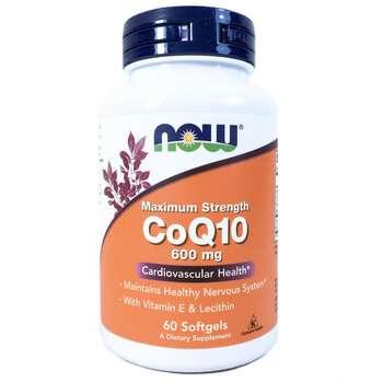 Купить Now Foods CoQ10 600 mg 60 Softgels