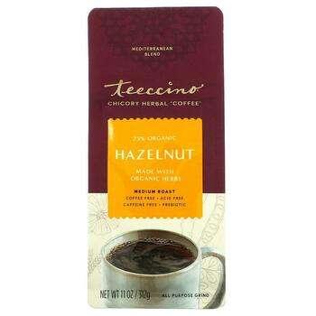 Купить Teeccino Herbal Coffee Hazelnut Medium Roast Caffeine Free 11 ...