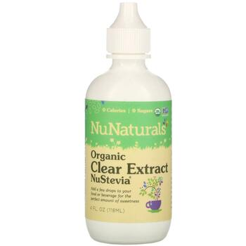Купить NuStevia Organic Clear Extract 4fl oz 118 ml