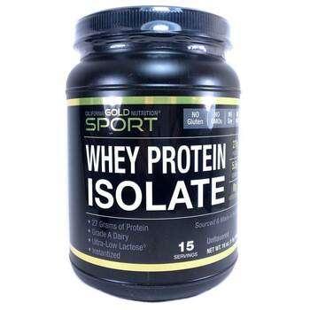 Купить Whey Protein Isolate 454 g (Ізолят сироваткового протеїну  454 г)