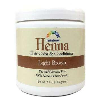 Купить Rainbow Research Henna Hair Color and Conditioner Light Brown ...