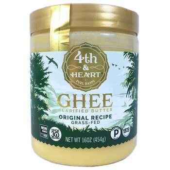 Купить 4th & Heart Ghee Clarified Butter Original Recipe 454 g