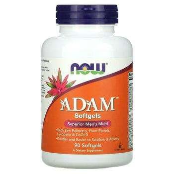 Купить Now Foods ADAM Superior Men's Multi 90 Softgels
