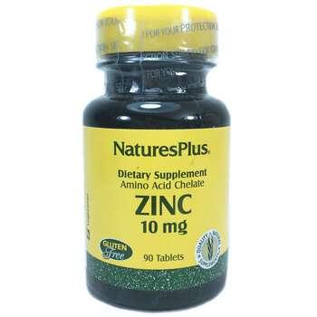 Купить Nature's Plus Zinc 10 mg 90 Tablets
