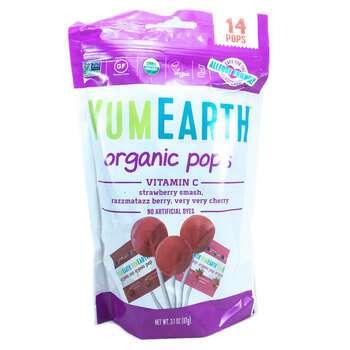 Купить Organic Vitamin C Pops 14 Pops 385 g Each (Юм Еарс Органічні л...