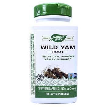Купить Wild Yam Root 425 mg 180 Veggie Caps