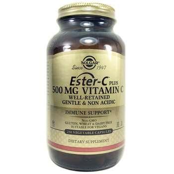 Купить Solgar Ester-C Plus 500 mg 250 Capsules