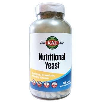 Купить KAL Nutritional Yeast 500 Tablets