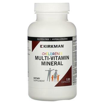 Купить Children's Multi-Vitamin/Mineral Capsules 120 Capsules