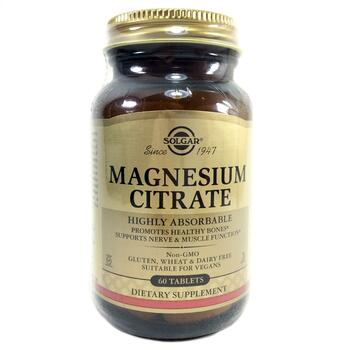 Купить Magnesium Citrate 420 mg 60 Tablets ( Цитрат магнію 420 мг 60 ...