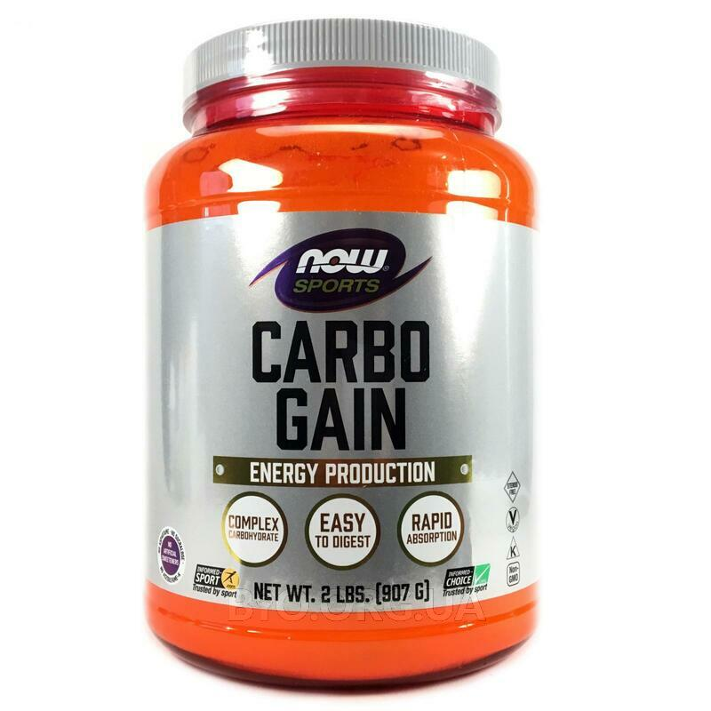 Now Foods Sports Carbo Gain 907 g