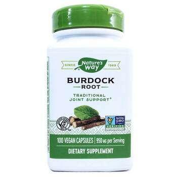 Купить Burdock Root 475 mg 100 Veg Capsules ( Корінь лопуха 475 мг 10...