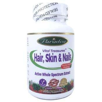 Купить Paradise Herbs Vital Treasures Hair Skin & Nails 60 Vegetarian...