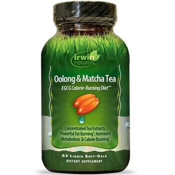 Купить Irwin Naturals Oolong & Matcha Tea EGCG Calorie-Burning Diet 6...