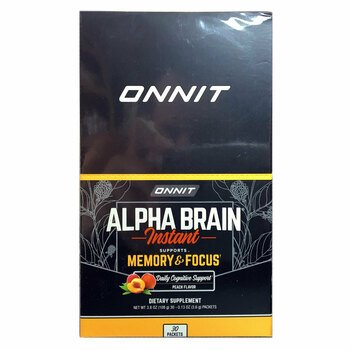 Купить Alpha Brain Instant Memory & Focus 30 Sticks 3.6 g Each ( Alph...