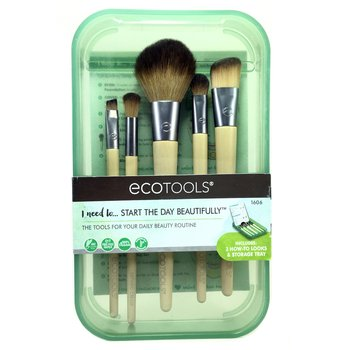Купить Start The Day Beautifully Brush Set 5 Piece Set & Storage Tray...