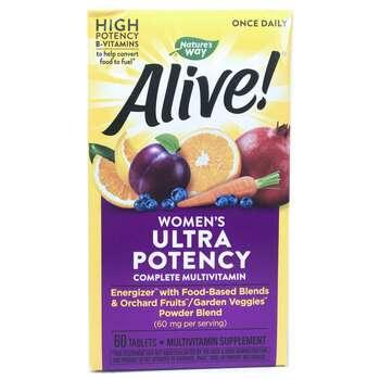 Купить Alive! Once Daily Womens Ultra Potency Multi Vitamin 60 Tablets