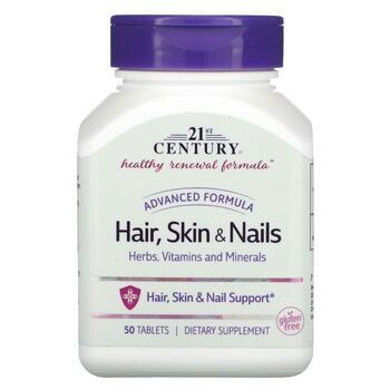 Фото товара 21-го века для волос и ногтей передовые формулы 50 таблеток