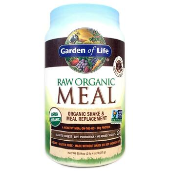 Купить RAW Organic Meal Shake Meal Replacement Chocolate Cacao 986 g