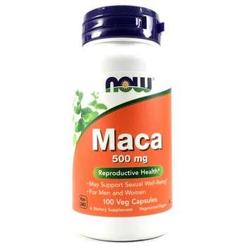Купить Now Foods Maca 500 mg 100 Veggie Capsules