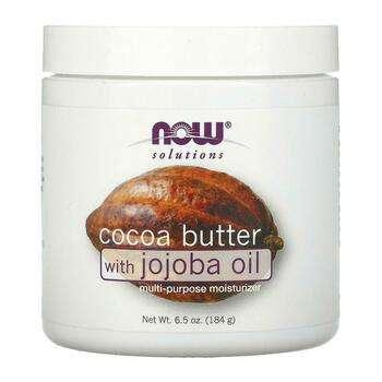 Купить Нау Фудс масло какао с маслом жожоба 192 мл