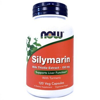 Купить Now Foods Silymarin 150 mg 120 Capsules