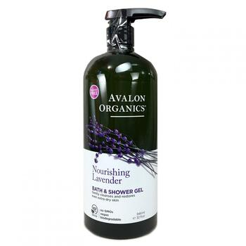 Купить Avalon Organics Bath Shower Gel Lavender 946 ml