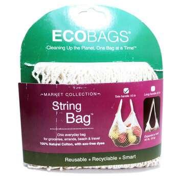 Купить Market Collection String Bag Tote Handle 10 in Natural 1 Bag
