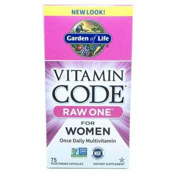 Купить Garden of Life Vitamin Code Raw One for Women 75 Veggie Caps