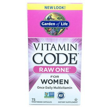 Купить Vitamin Code Raw One for Women 75 Veggie Caps (Гарден Оф Лайф ...