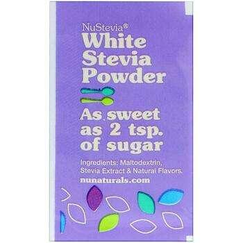 Купить NuStevia White Stevia Powder 1000 Packets 1000 g