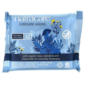 Купить Certified Organic Cotton Intimate Wipes 12 Wipes