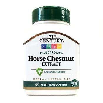 Купить Horse Chestnut Seed Extract Standardized 60 Veggie Caps (21 ст...