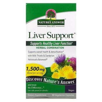 Купить Liver Support 1500 mg 90 Veggie Caps
