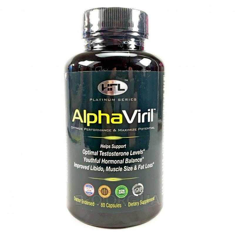 Alpha Viril Testosterone Booster 80 Capsules