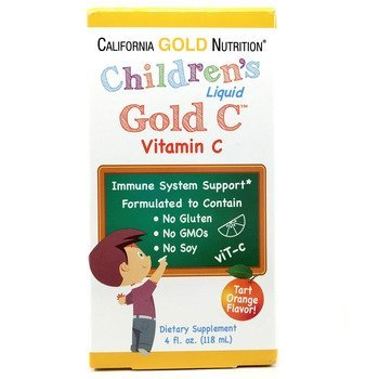 Купить California Gold Nutrition Children's Liquid Gold Vitamin C 118 ml