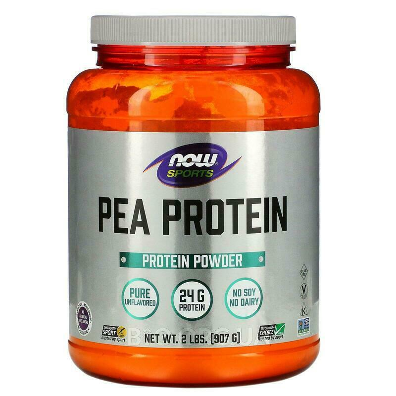 Now Foods Pea Protein Natural Unflavored 907 g